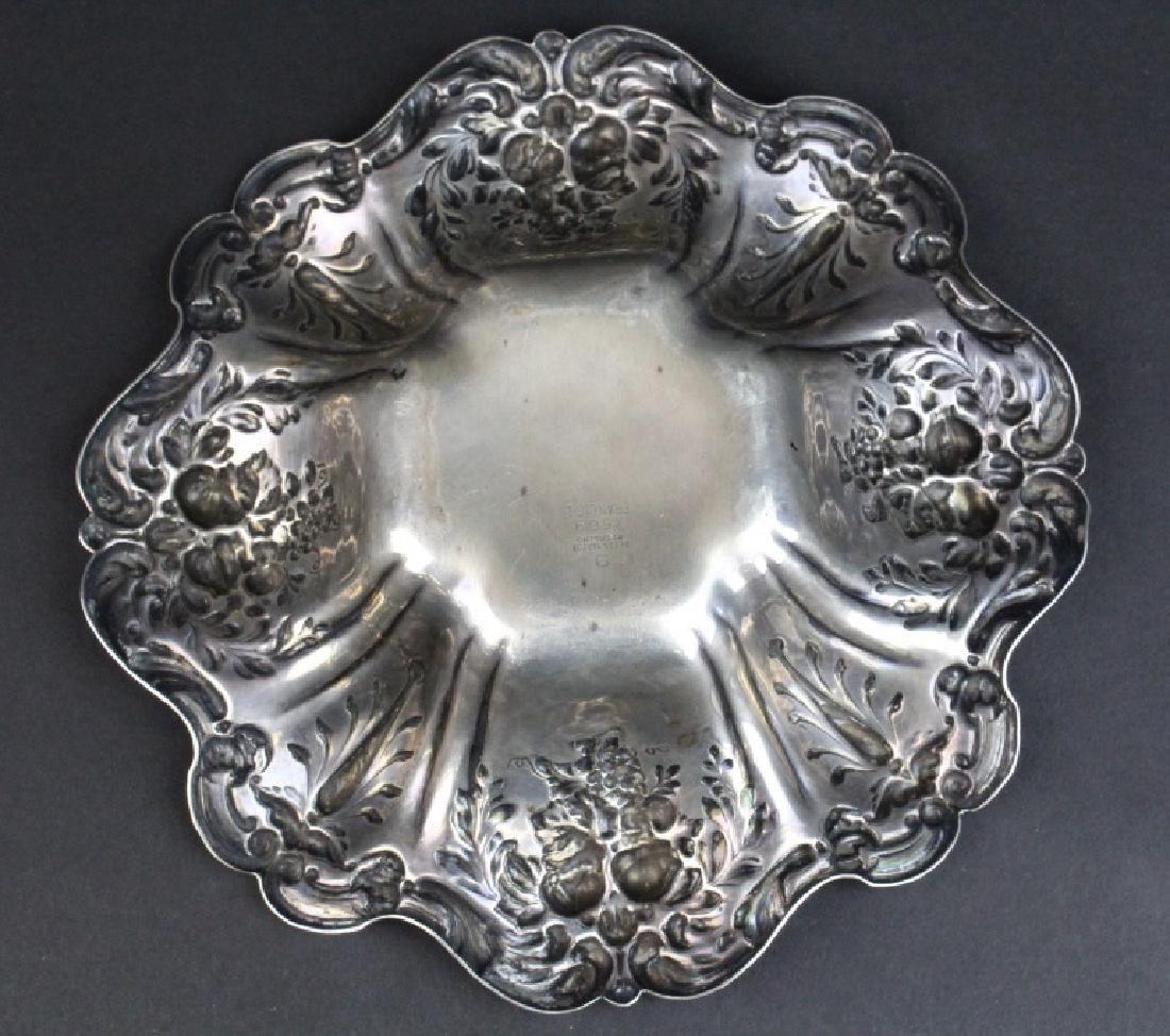 Reed Barton Francis I Sterling Silver Ornate Bowl 288g - 4