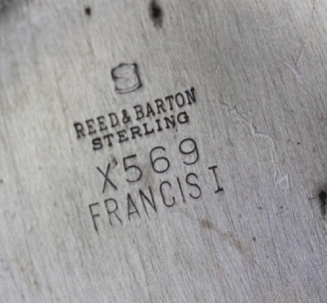Reed Barton Francis I Sterling Silver Ornate Bowl 288g - 5