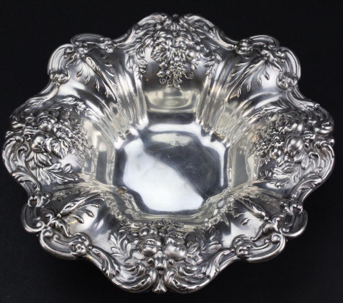 Reed & Barton Francis I Sterling Silver Candy Dish 335g