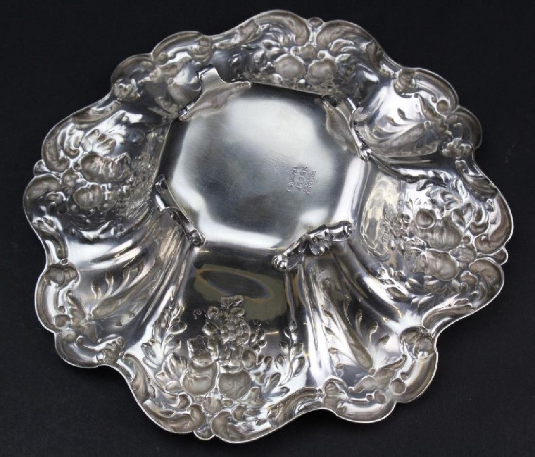 Reed & Barton Francis I Sterling Silver Candy Dish 335g - 5