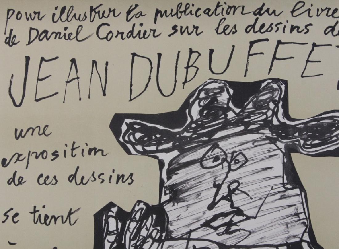 Jean Dubuffet Galerie Berggruen Poster 1960 Bass Museum - 2