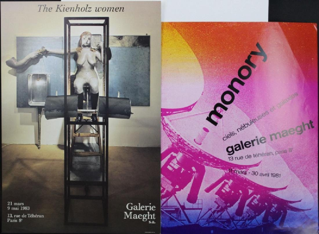 11 Galerie Maeght Gallery Posters from the Bass Museum