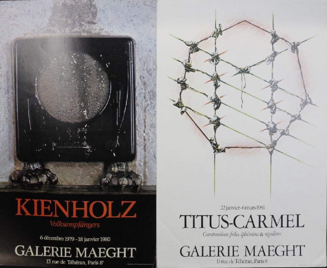 11 Galerie Maeght Gallery Posters from the Bass Museum - 2