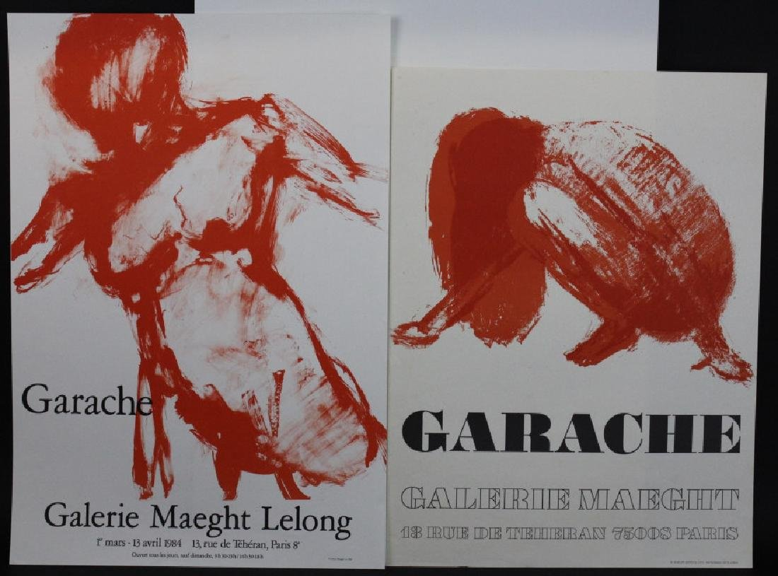 11 Galerie Maeght Gallery Posters from the Bass Museum - 3