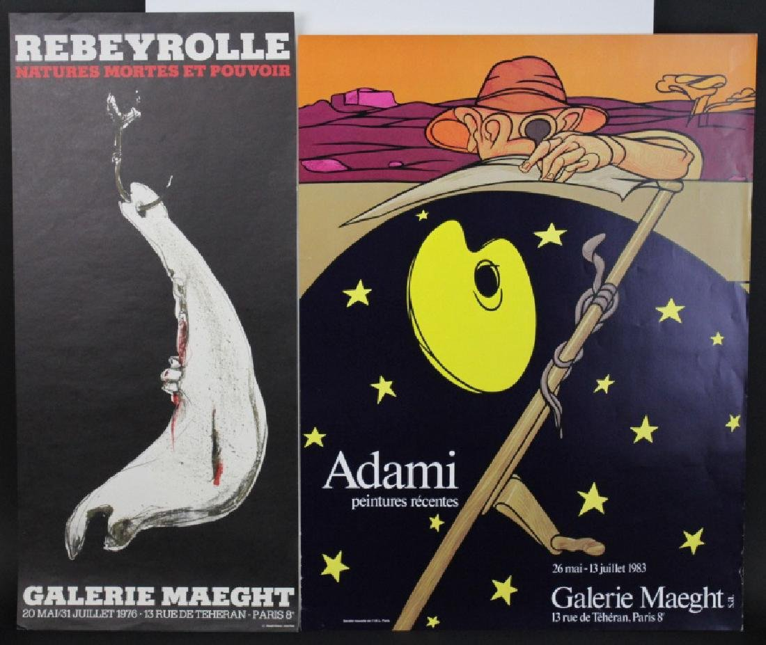 11 Galerie Maeght Gallery Posters from the Bass Museum - 5