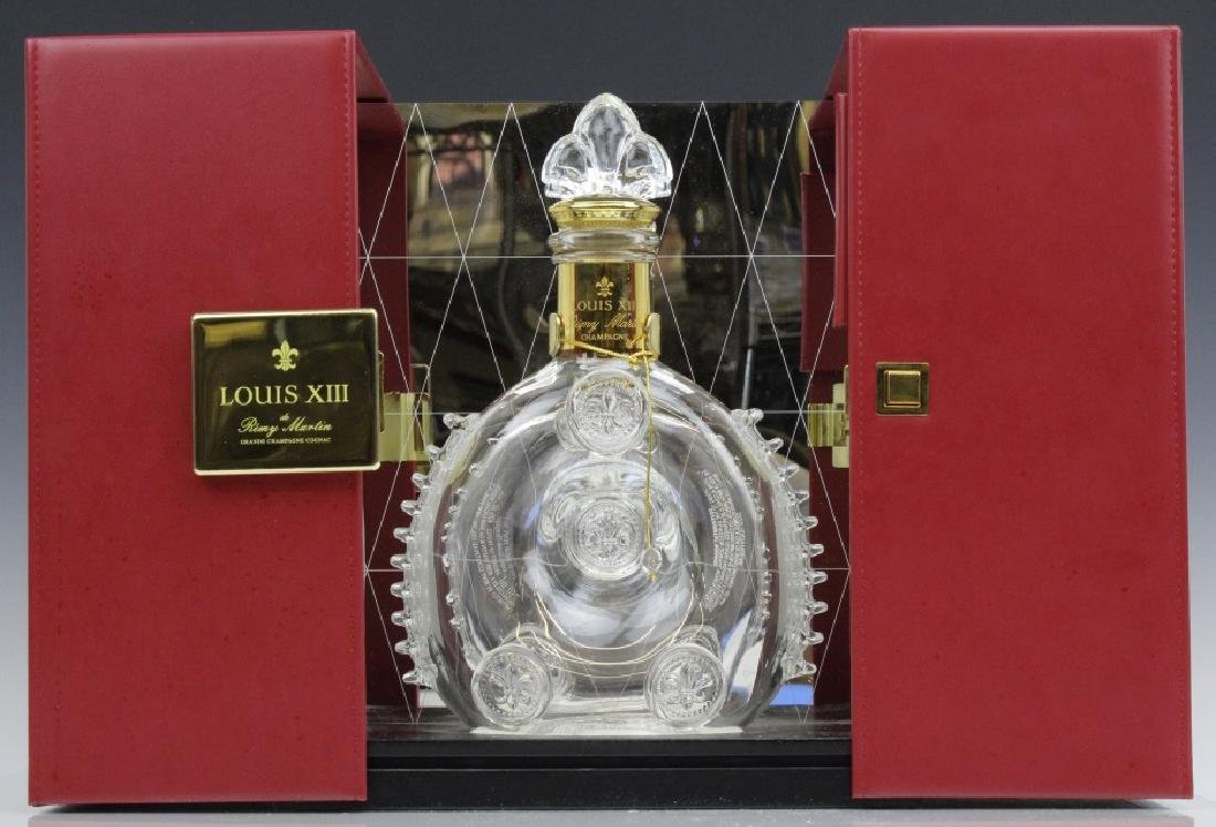 Louis XIII Remy Martin Baccarat Crystal Decanter w/ Box