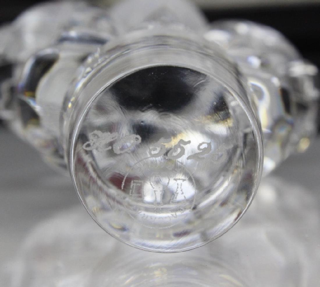 Louis XIII Remy Martin Baccarat Crystal Decanter w/ Box - 3