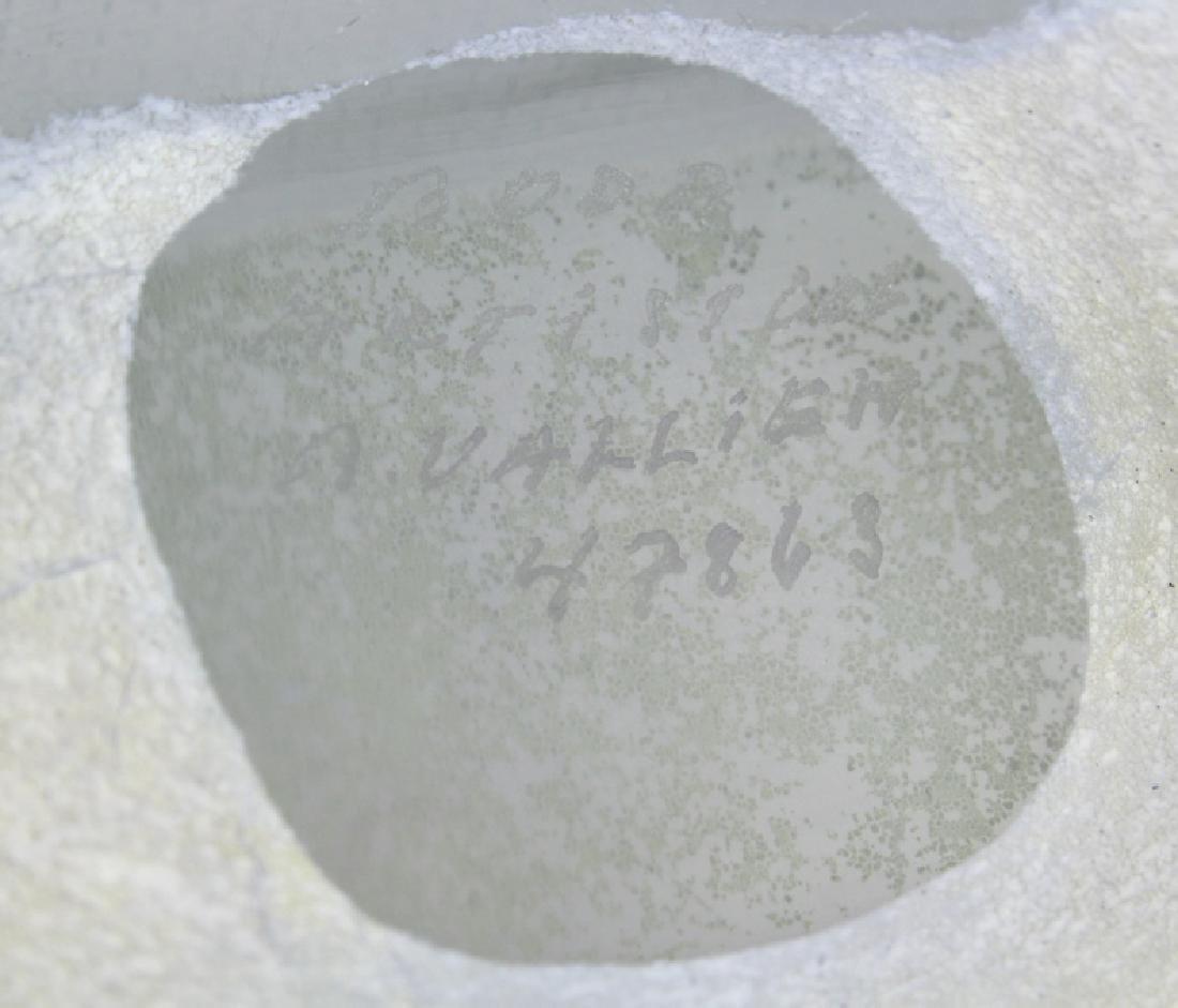 Kosta Boda Bertil Vallien Art Glass Satellite Bottle - 9
