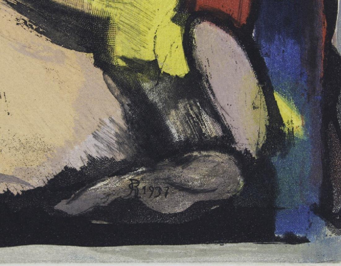 Georges Rouault Christ de Profil Color Aquatint Print - 3