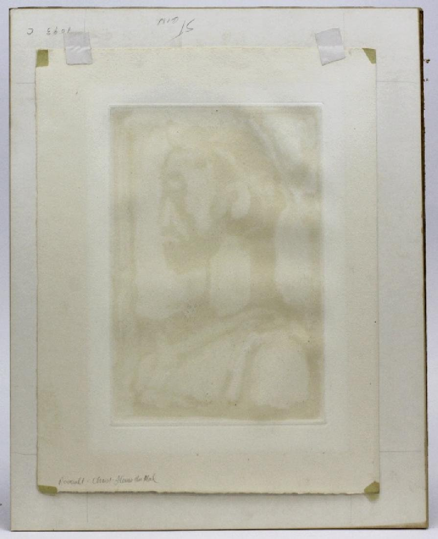 Georges Rouault Christ de Profil Color Aquatint Print - 7