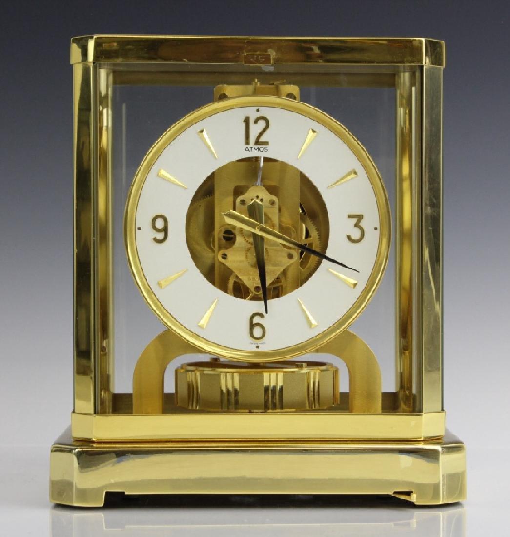 Jaeger Le Coultre Atmos Gold Case Mantle Clock VINTAGE