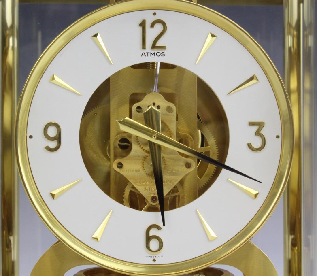 Jaeger Le Coultre Atmos Gold Case Mantle Clock VINTAGE - 2