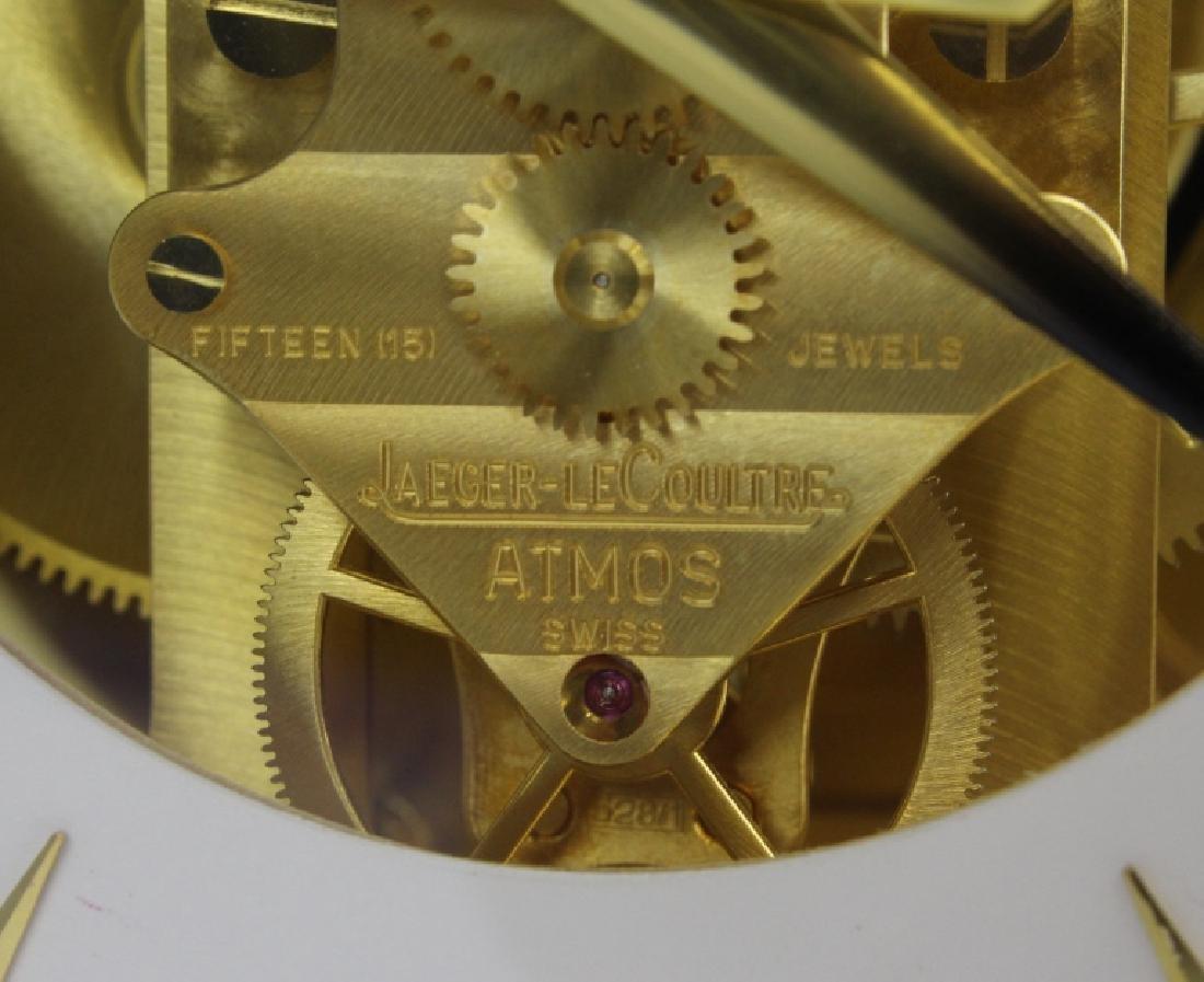Jaeger Le Coultre Atmos Gold Case Mantle Clock VINTAGE - 3