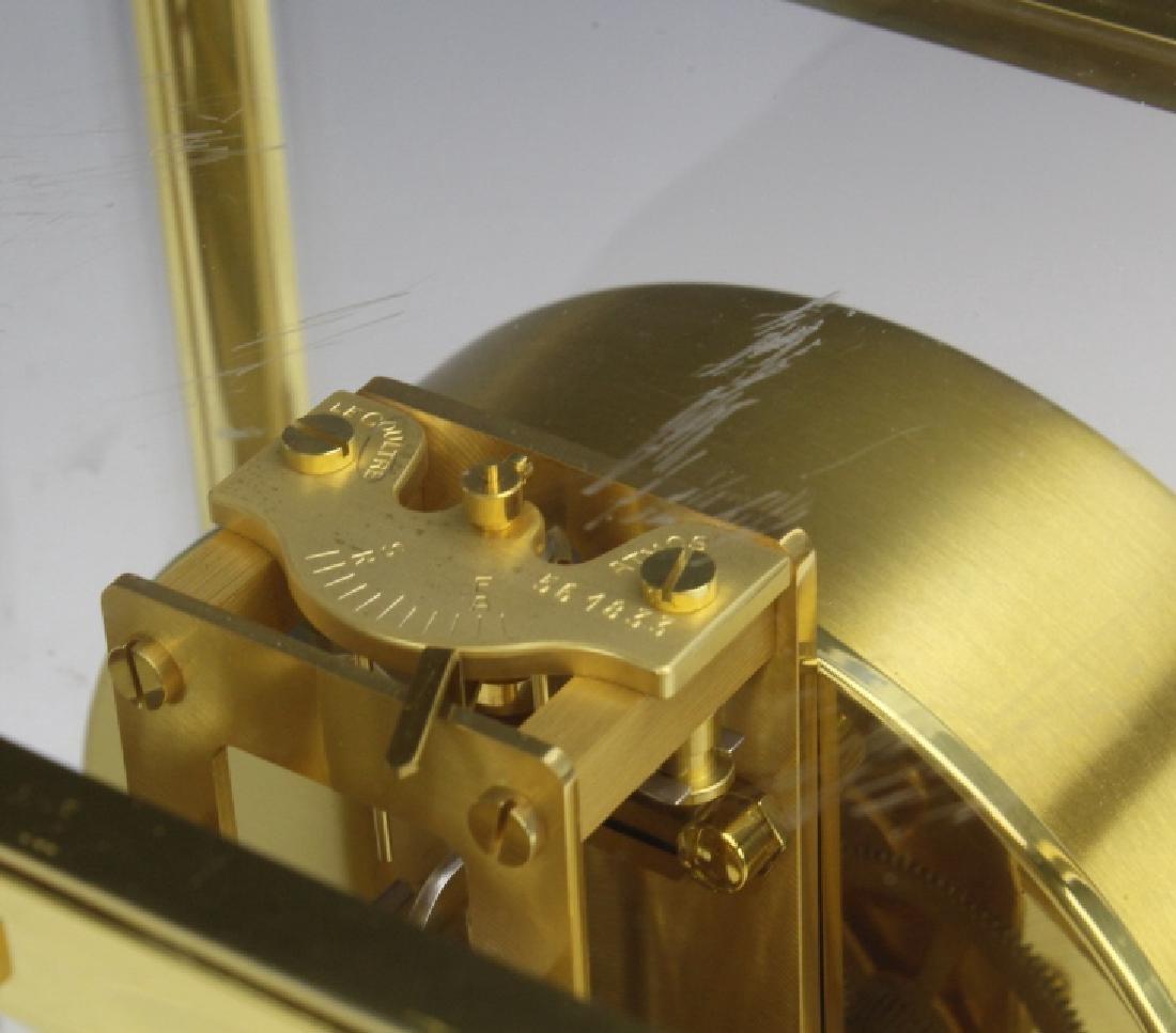 Jaeger Le Coultre Atmos Gold Case Mantle Clock VINTAGE - 4