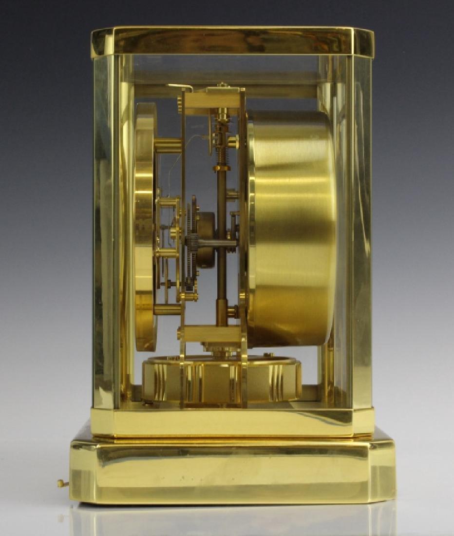 Jaeger Le Coultre Atmos Gold Case Mantle Clock VINTAGE - 5