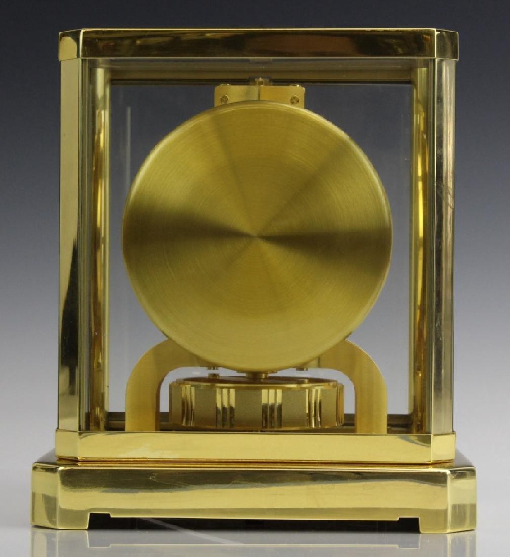 Jaeger Le Coultre Atmos Gold Case Mantle Clock VINTAGE - 6