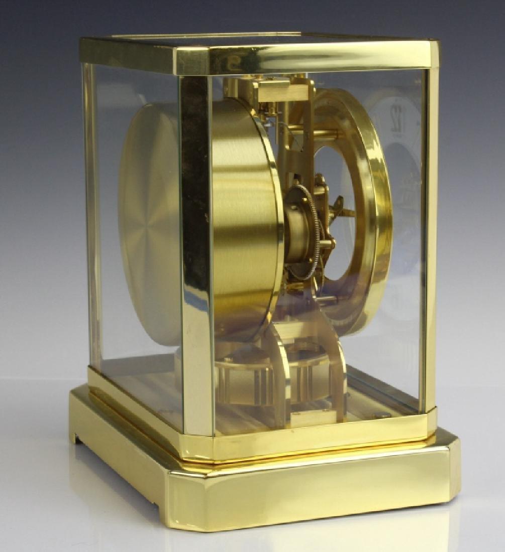 Jaeger Le Coultre Atmos Gold Case Mantle Clock VINTAGE - 7