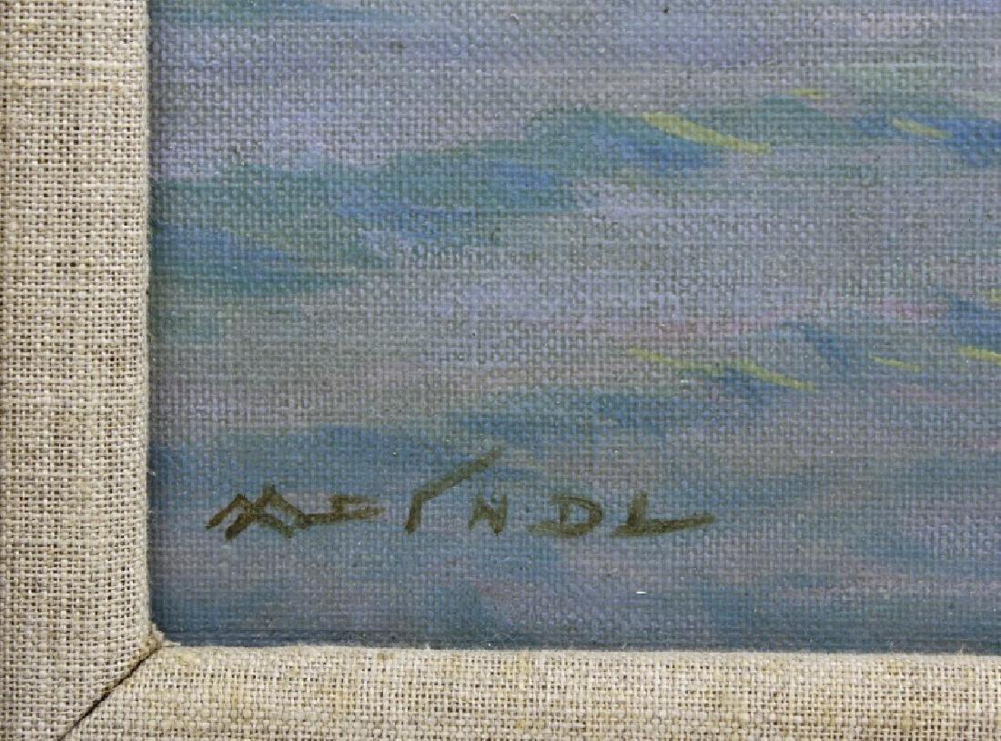 Albert Miendl (1891-1967) Austria Seascape Oil Painting - 3