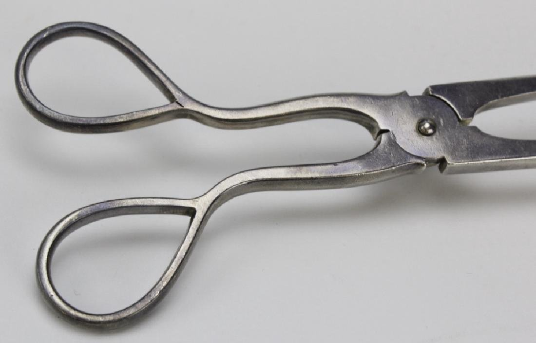 J.E. Caldwell Sterling Silver 925 Serving Tongs 222g - 6