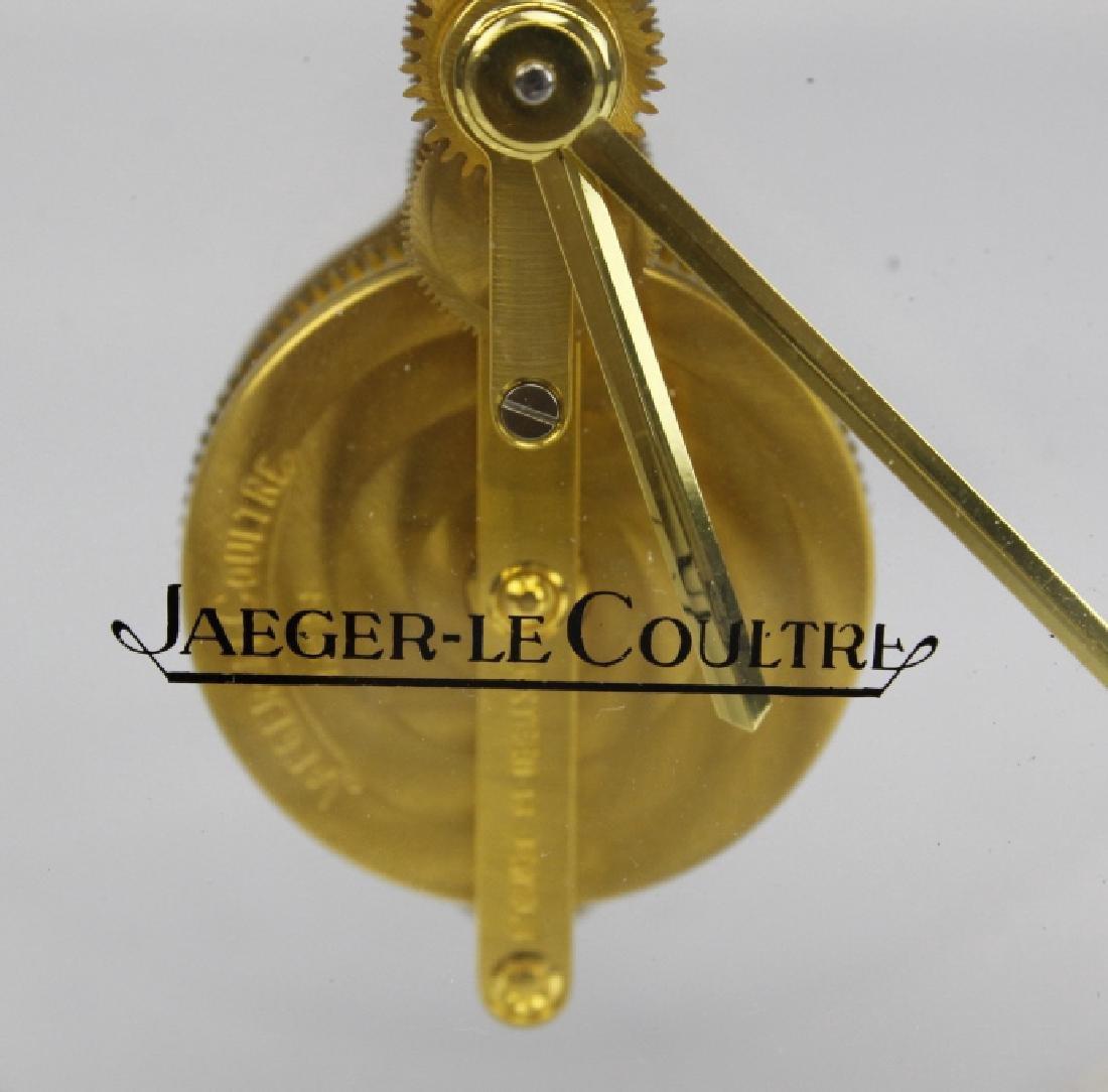 VTG Jaeger Le Coultre 16j 8 Day Skeleton Desk Clock - 2