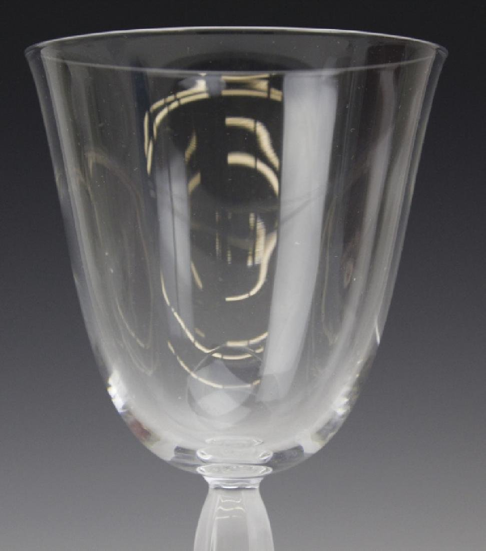 Six (6) CLARA Baccarat Fine French Crystal Wine Glasses - 3