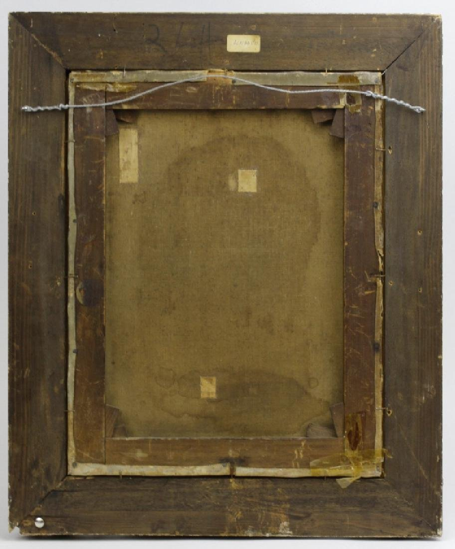 C Graves 1880s Orientalist Oil Painting LISTED ARTIST - 7