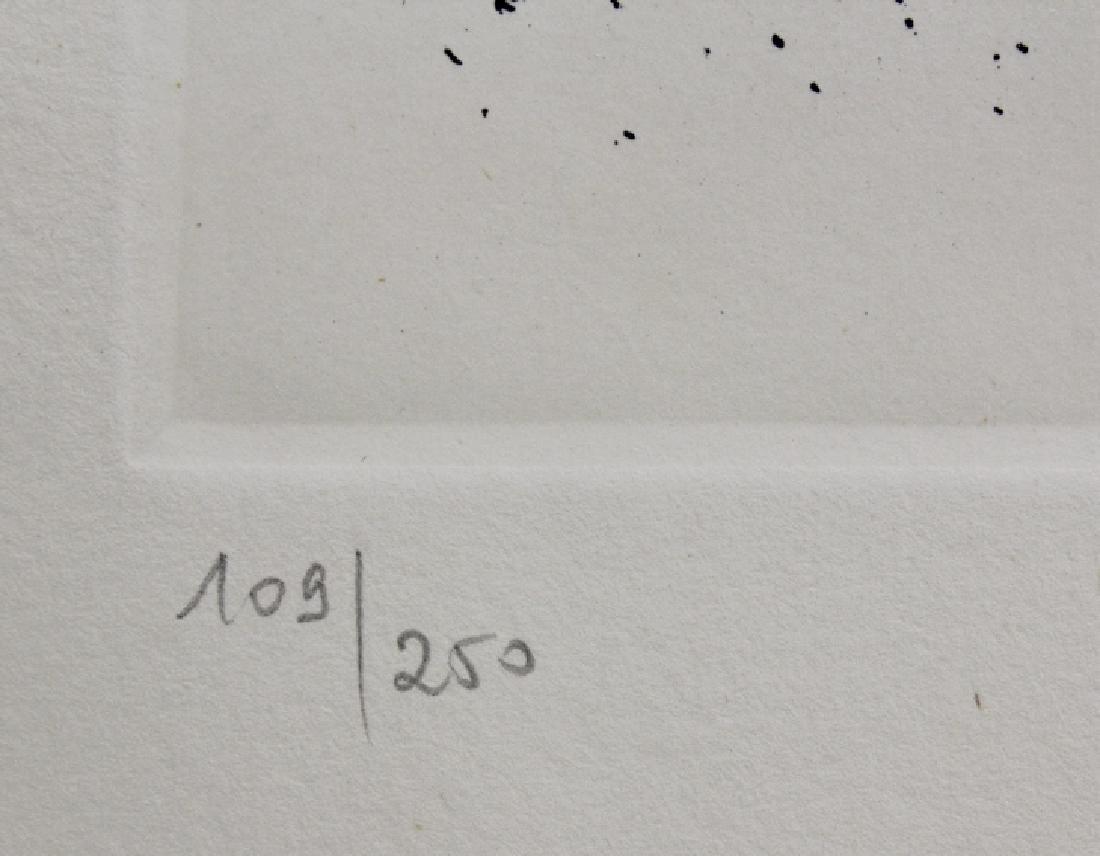 Pencil Signed Salvador Dali Scorpio Zodiac Etching - 3