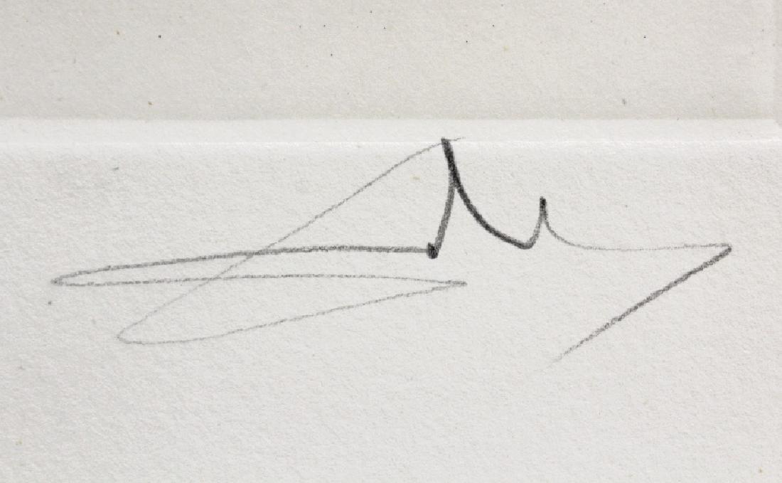 Pencil Signed Salvador Dali Scorpio Zodiac Etching - 4