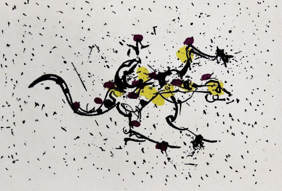Pencil Signed Salvador Dali Scorpio Zodiac Etching - 5