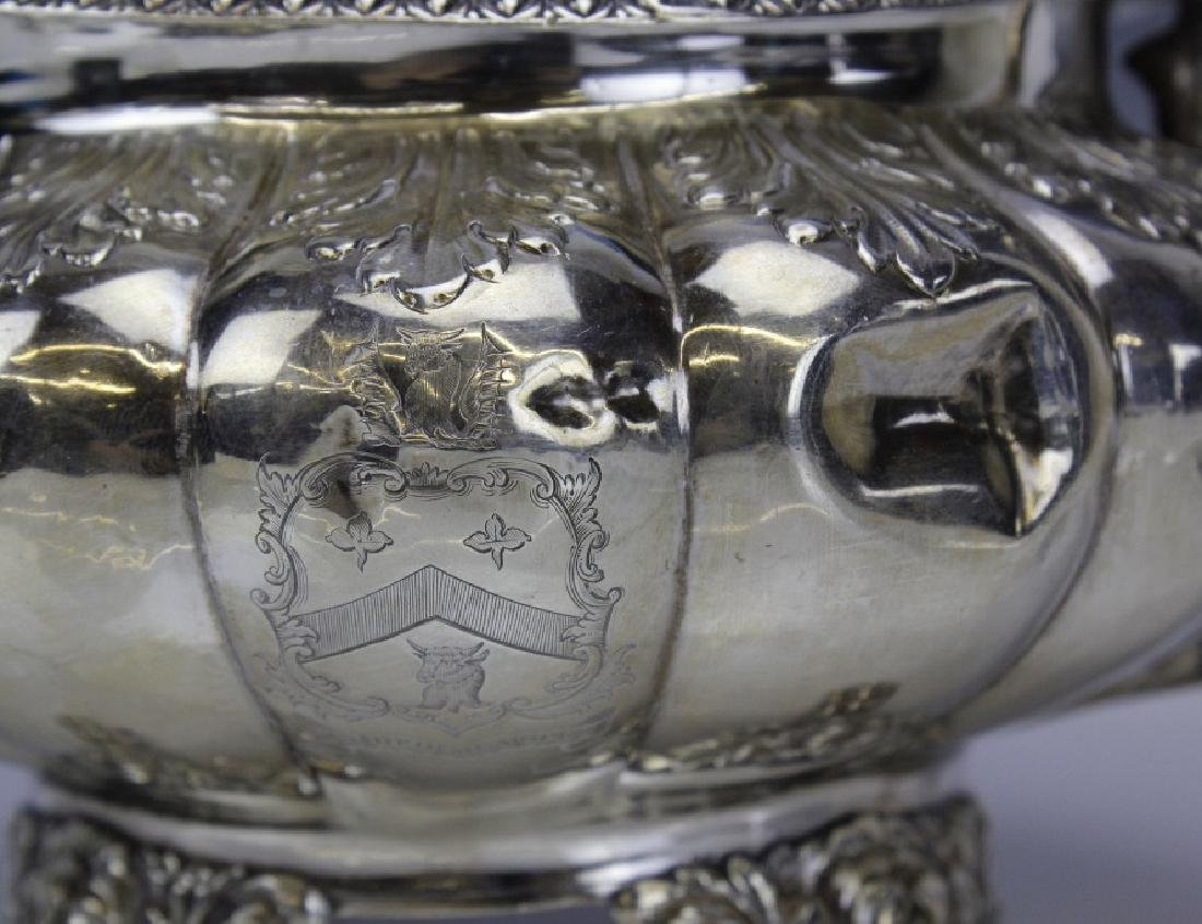 JA London 1822 Sterling Silver 925 Coffee Tea Pot 650g - 10