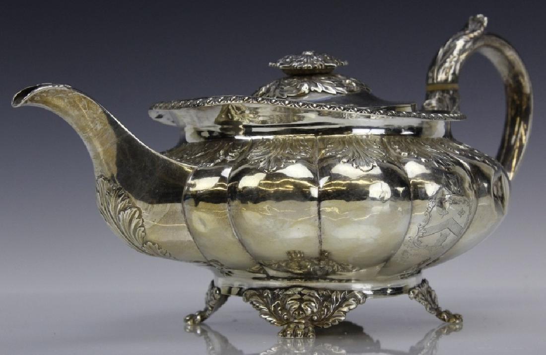 JA London 1822 Sterling Silver 925 Coffee Tea Pot 650g