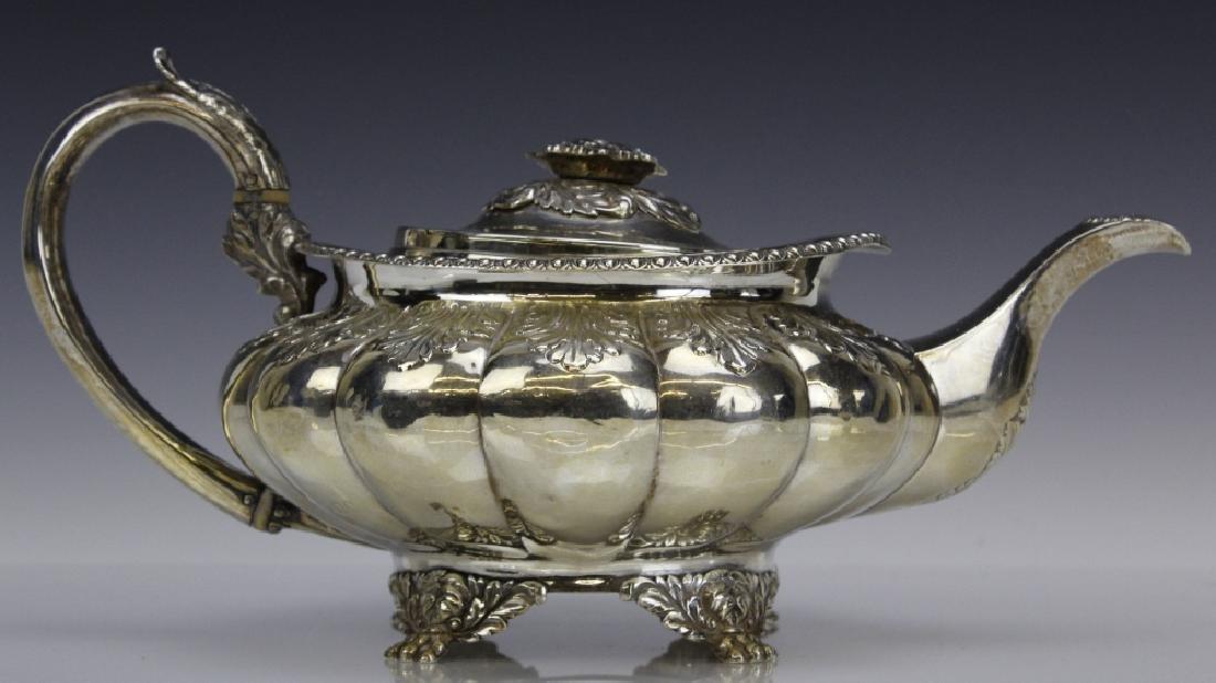 JA London 1822 Sterling Silver 925 Coffee Tea Pot 650g - 2