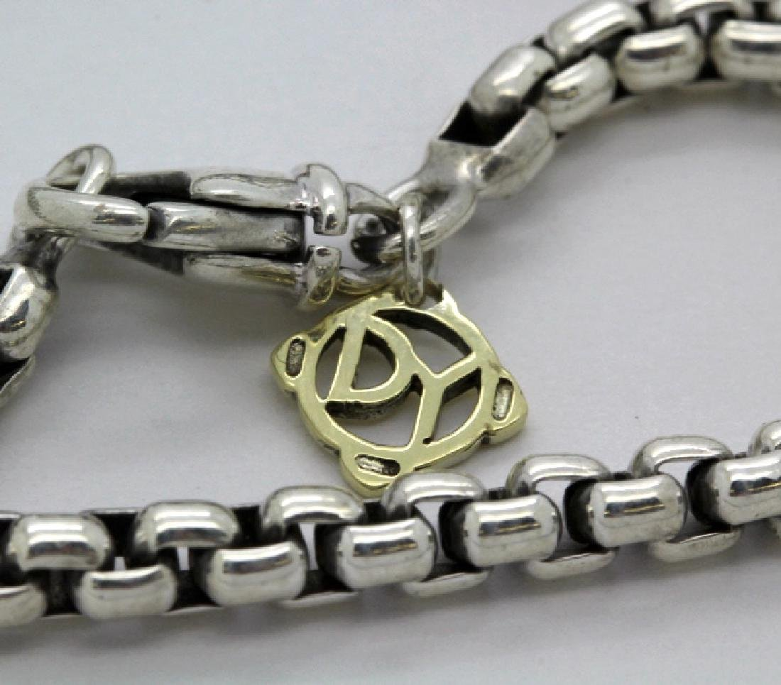 David Yurman 18k & Silver Necklace & Citrine Pendant - 7