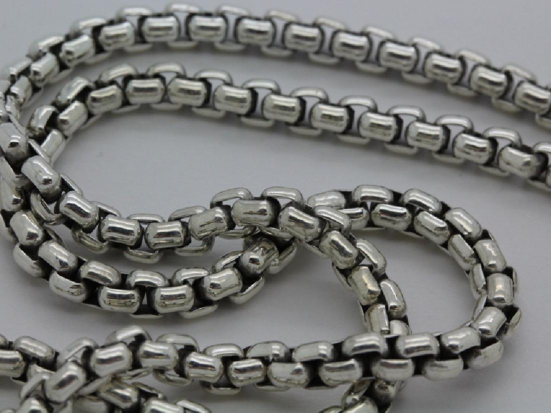 David Yurman 18k & Silver Necklace & Citrine Pendant - 8