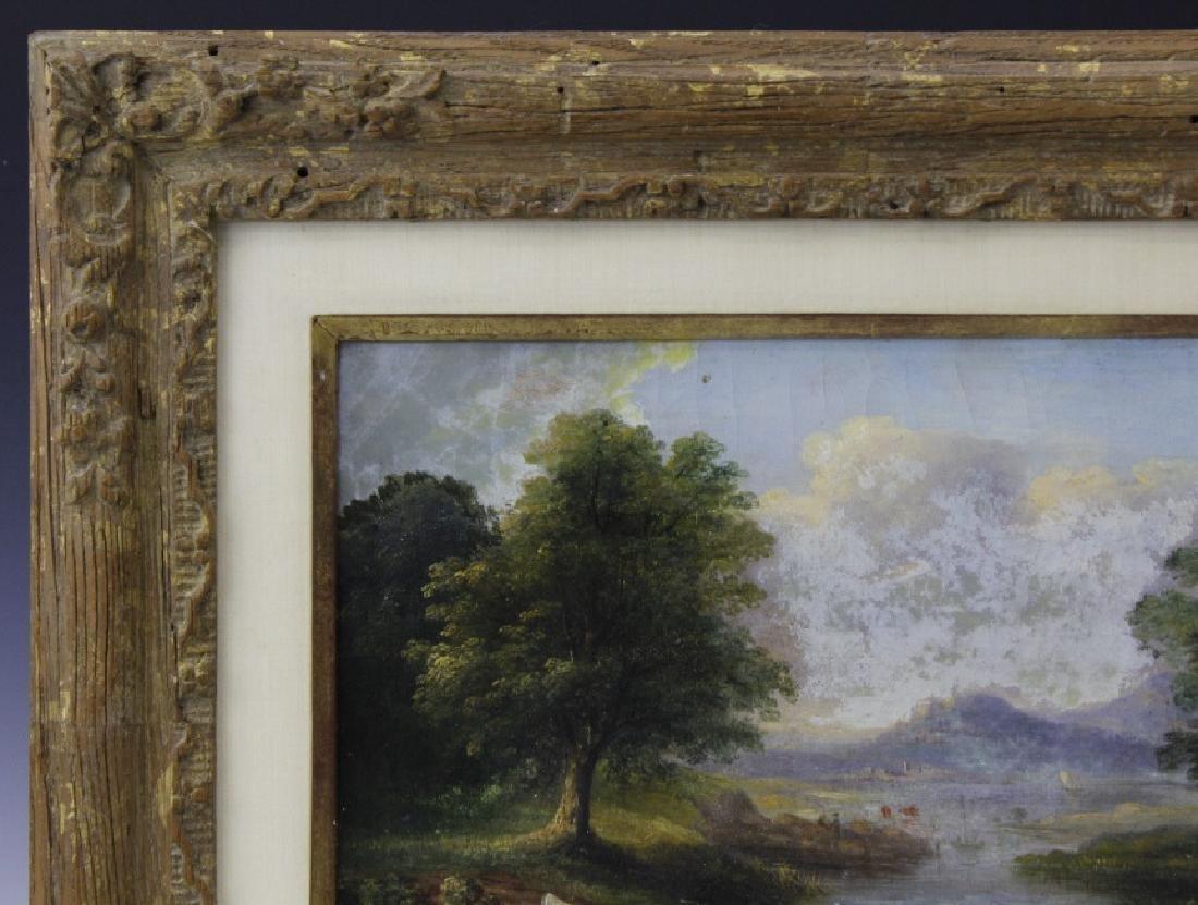 V. Dorland Pastoral Landscape Oil Painting FRAMED - 5
