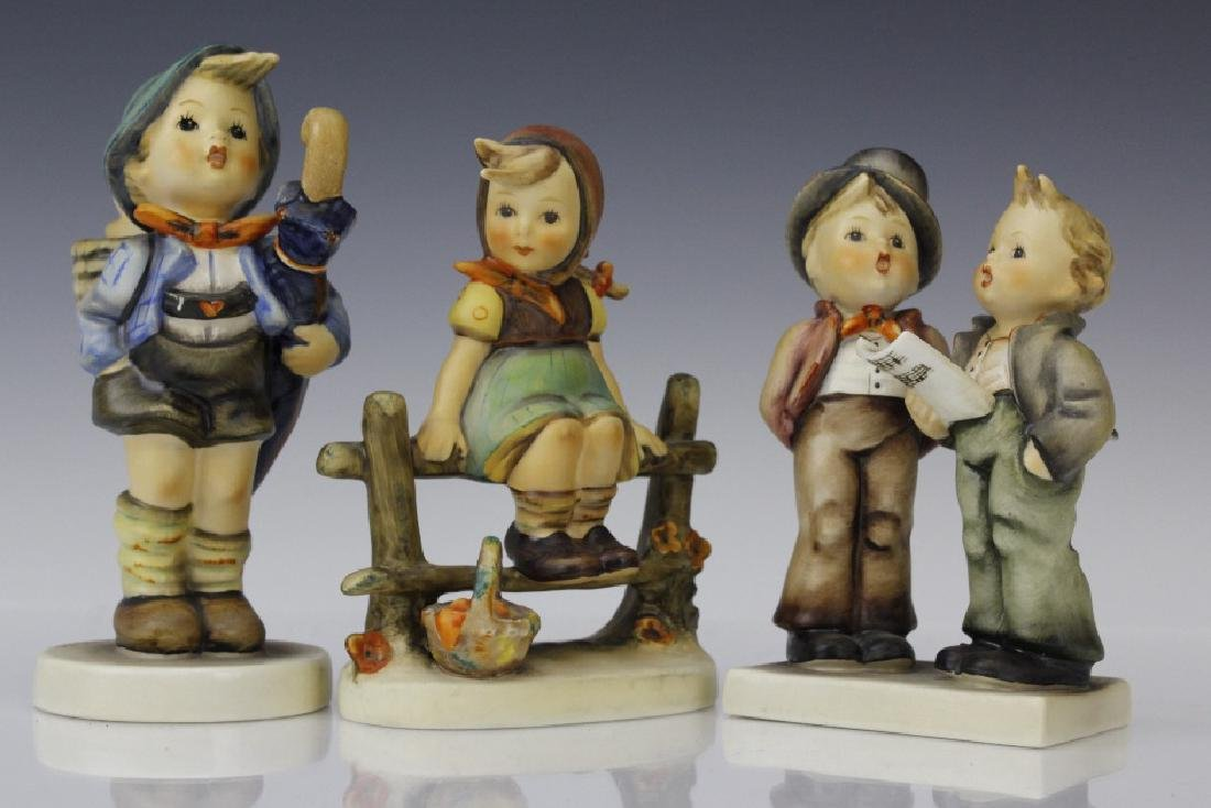 Cute ESTATE Lot of 5 Hummel Porcelain Figurines - 2