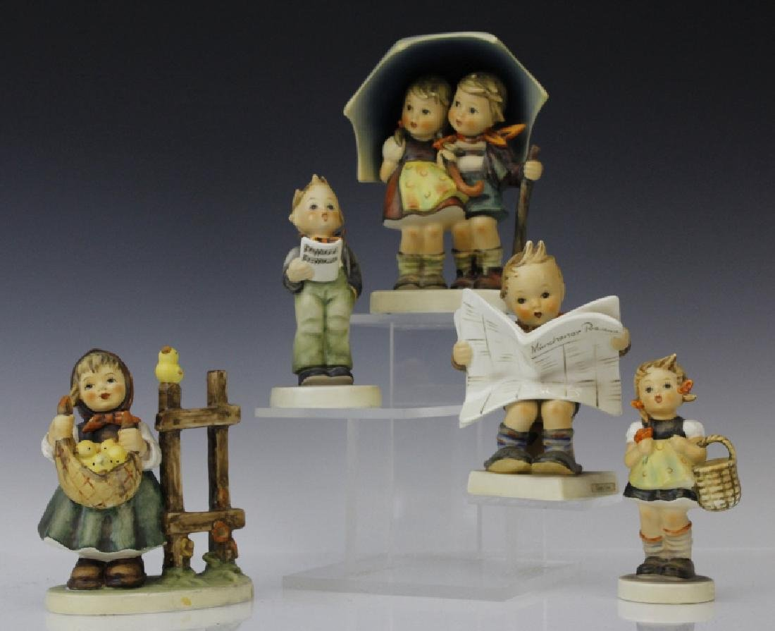 Cute ESTATE Lot of 5 Hummel Porcelain Figurines