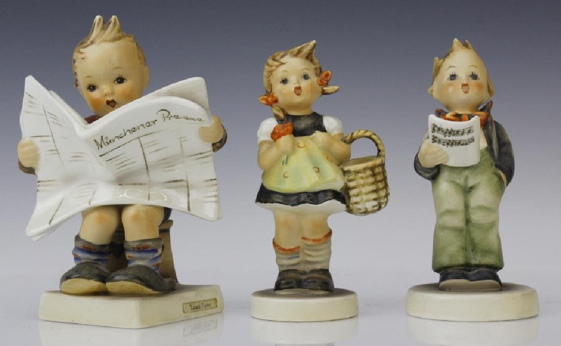 Cute ESTATE Lot of 5 Hummel Porcelain Figurines - 4
