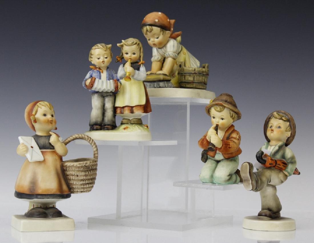 Cute ESTATE Lot of 5 Hummel Porcelain Figurines