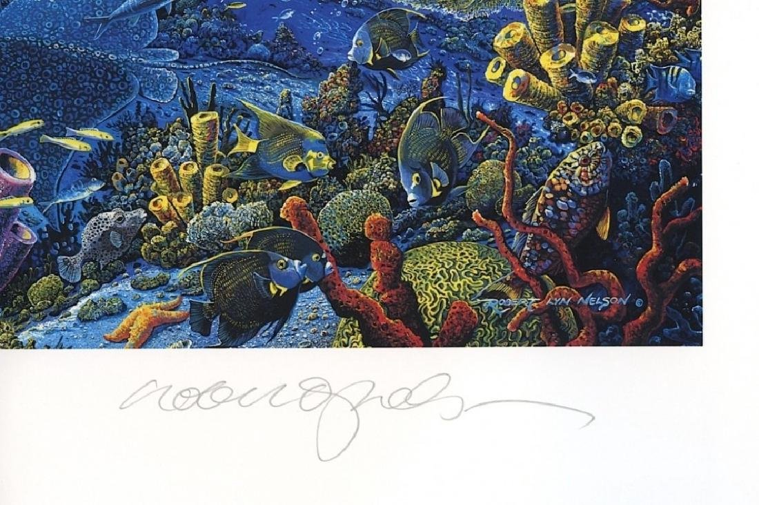 Signed Robert Lyn Nelson Sea to Shining Lithograph - 3