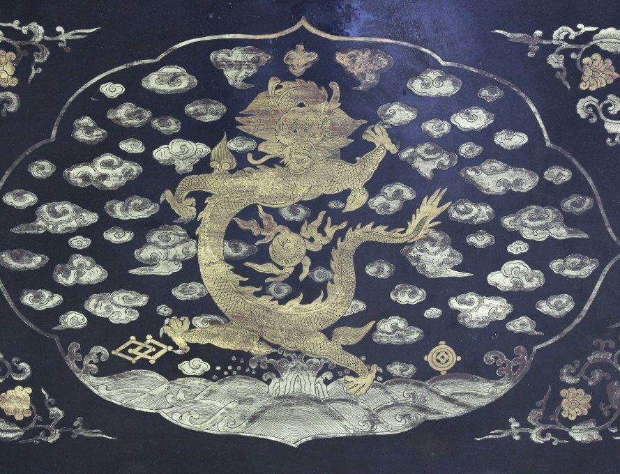 Elaborate & Detailed Antique Chinese Dragon Chest - 10