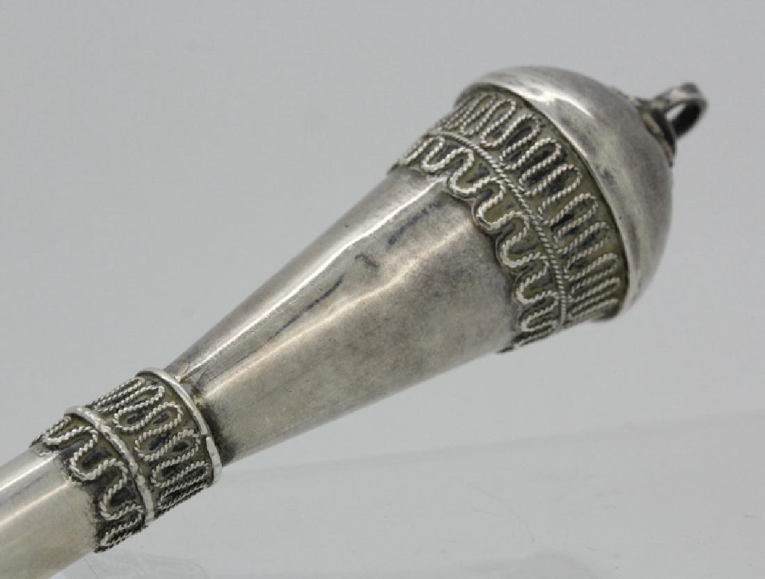 Sterling Silver Judaica Torah Pointer JUDAICA - 4