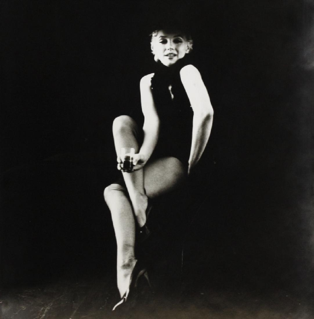 Signed Milton Greene B&W Marilyn Monroe Photograph