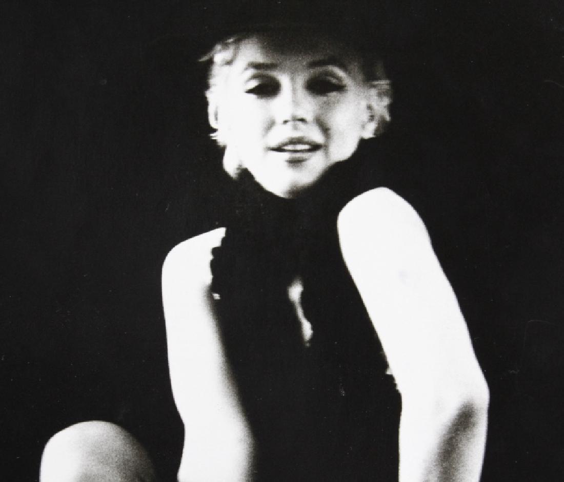 Signed Milton Greene B&W Marilyn Monroe Photograph - 4