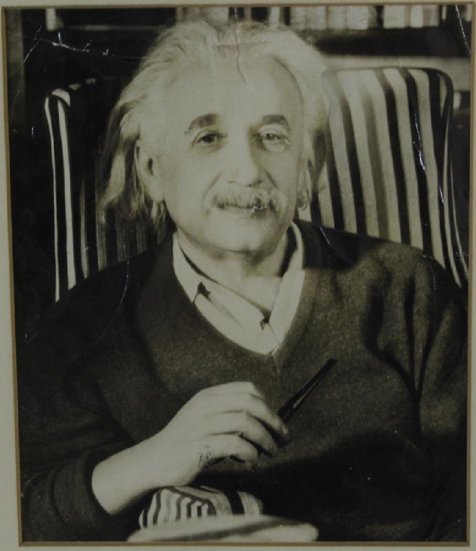 Original ALBERT EINSTEIN Black & White Photograph Photo - 5