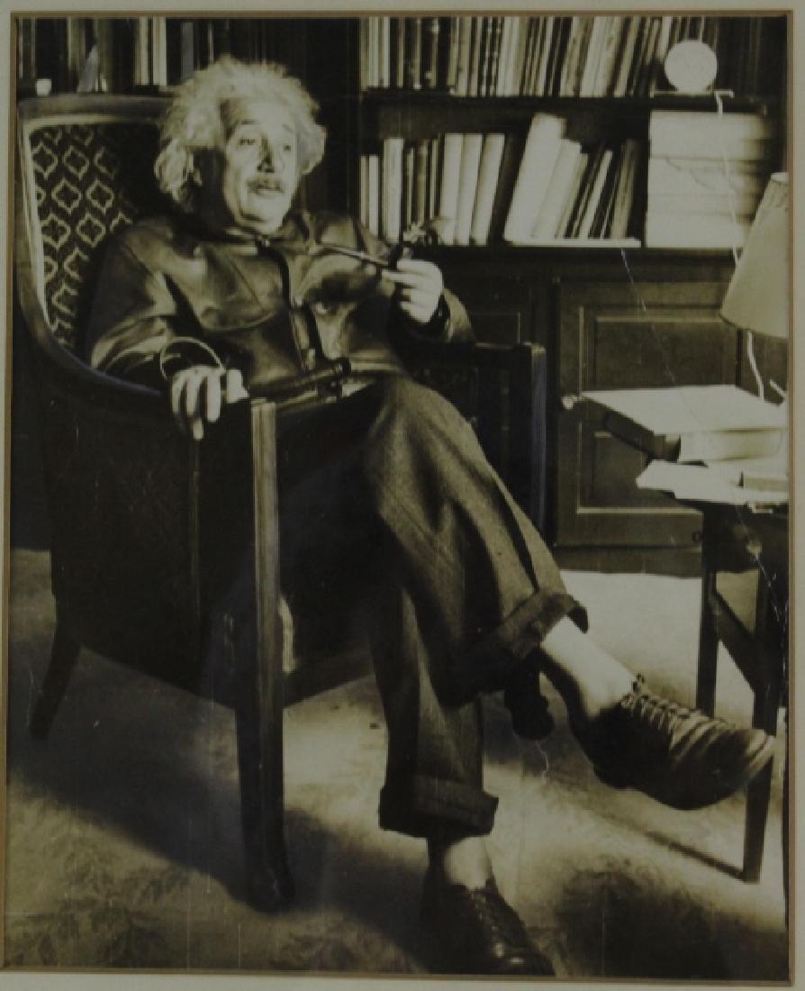 Original ALBERT EINSTEIN Black & White Photograph Photo - 6