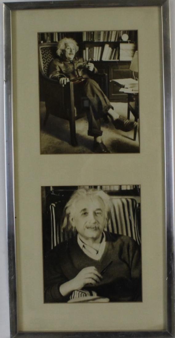 Original ALBERT EINSTEIN Black & White Photograph Photo - 7