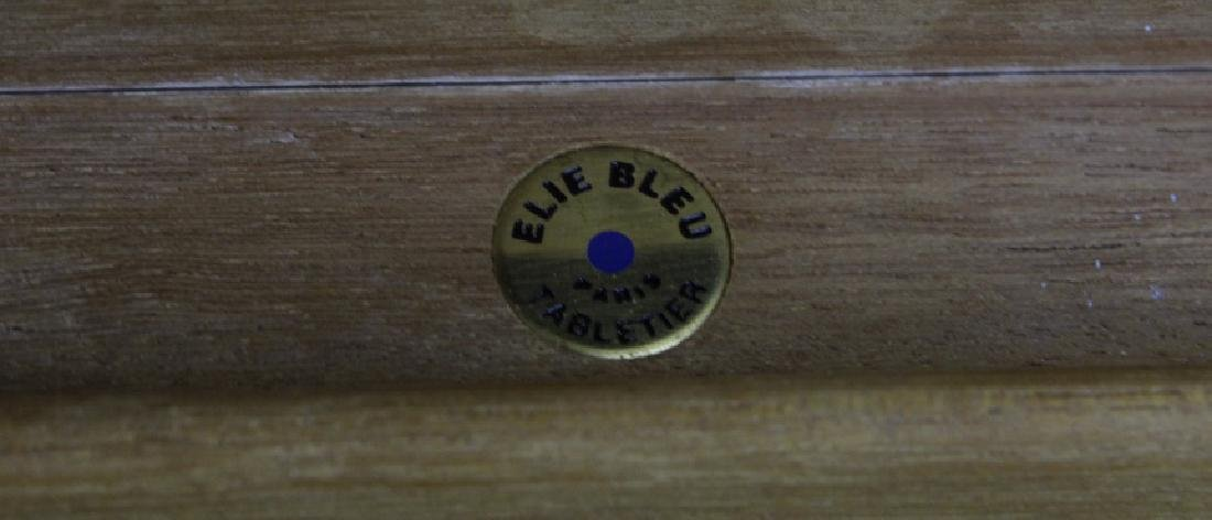ELIE BLUE Flor Fina Red Havana Cigar Box Humidor PARIS - 4