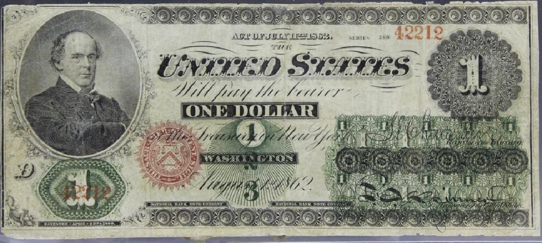 1862 Large Size $1 Legal Tender Note Fr. 16c