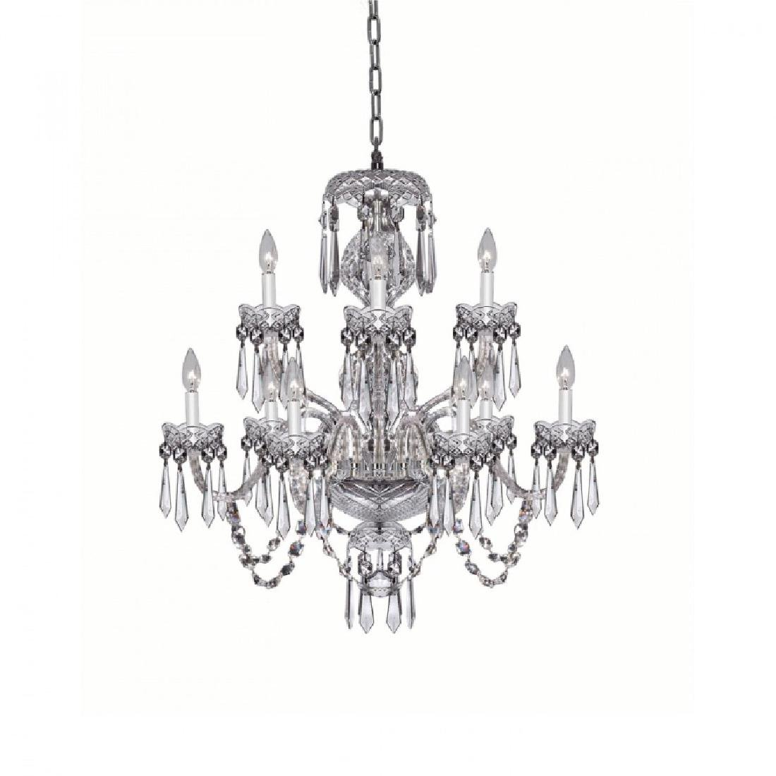 Waterford Cut Crystal Cranmore 9 Arm Chandelier